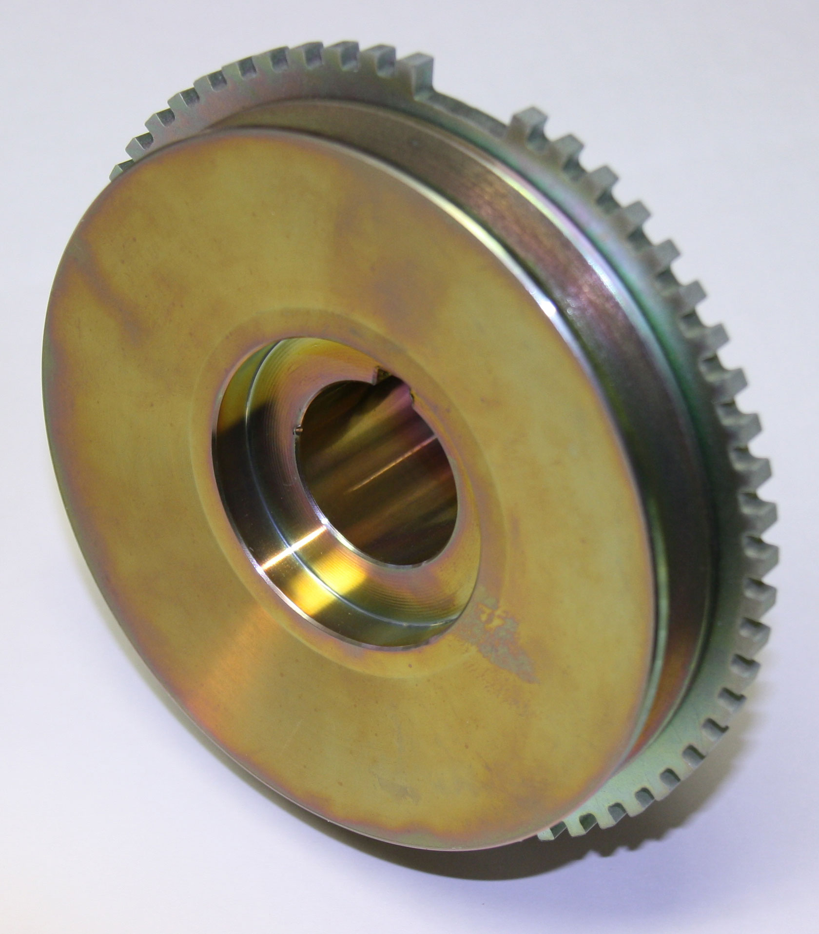 Crank Pulley & Trigger Wheel